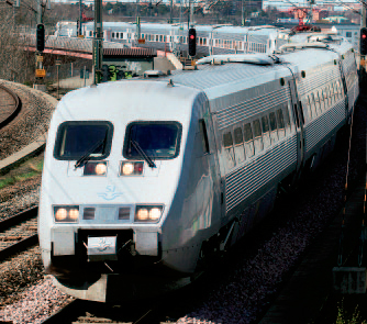Электропоезд типа X2000