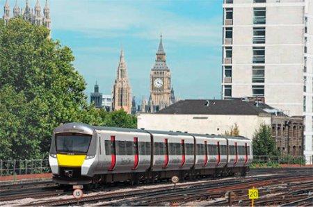 Тележки поездов Desiro City для линии Thameslink