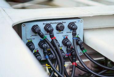 Бортовой модуль мониторинга состояния тормозов