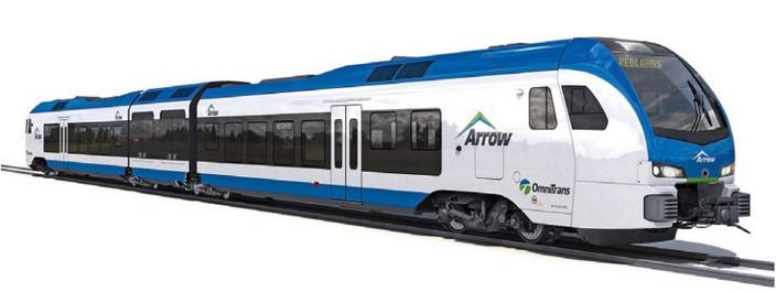 Поезд на топливных элементах FLIRT H2