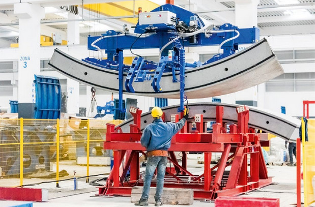 Завод по производству тюбингов